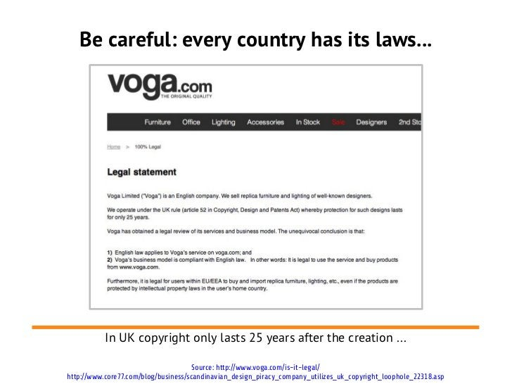 Be careful: every country has its laws...           In UK copyright only lasts 25 years after the creation ...            ...