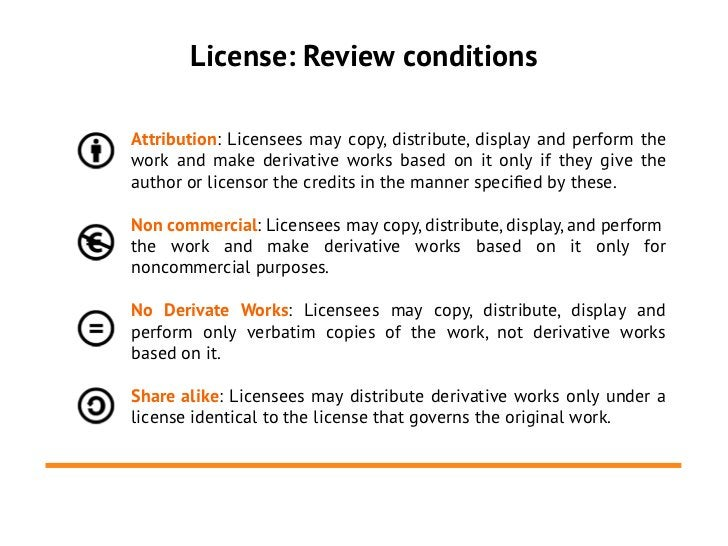 License: Review conditionsAttribution: Licensees may copy, distribute, display and perform thework and make derivative wor...