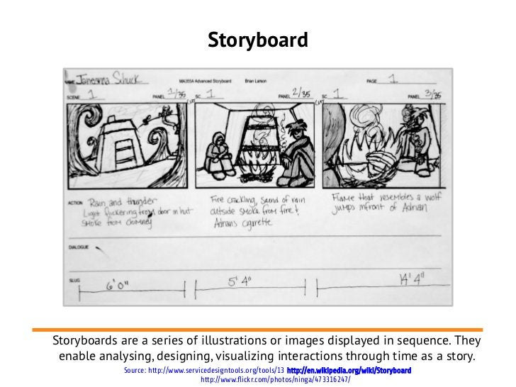StoryboardStoryboards are a series of illustrations or images displayed in sequence. They enable analysing, designing, vis...