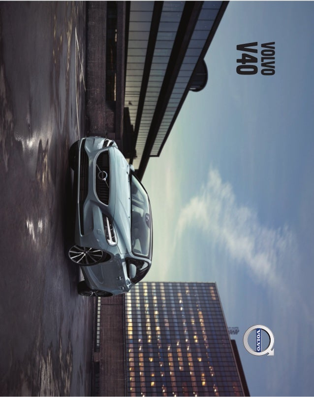 Ficha técnica Volvo V40 FL MY17