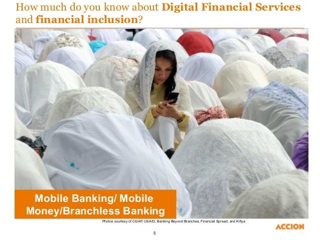 Digital financial services: essentials