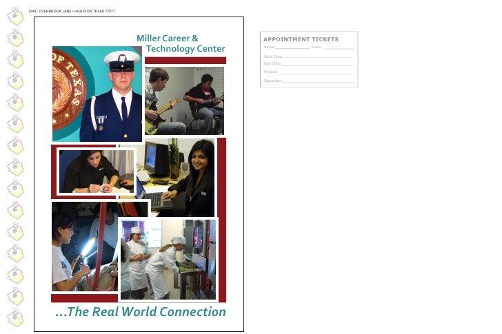 12401 OVERBROOK LANE • HOUSTON TEXAS 77077                                                  Miller Career &       APPOINTM...