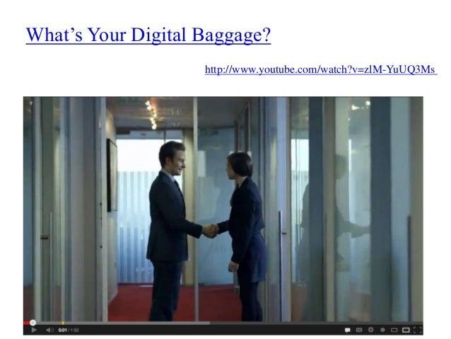 Digital Footprints - Managing Your Online Reputation Slide 2