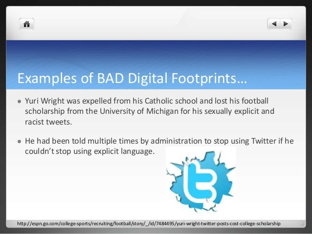 Are You Leaving a Good Digital Footprint?