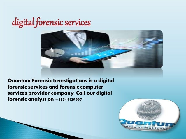 Digital Forensic Analyst