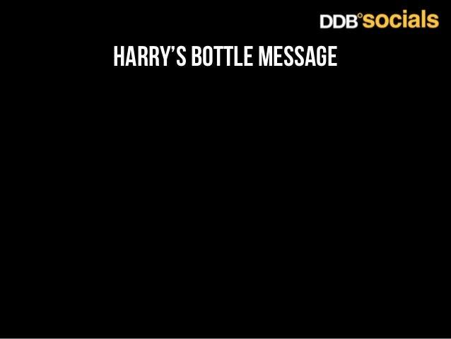 harry's bottle message