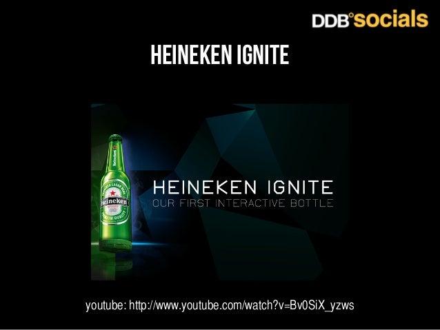 heineken ignite  youtube: http://www.youtube.com/watch?v=Bv0SiX_yzws