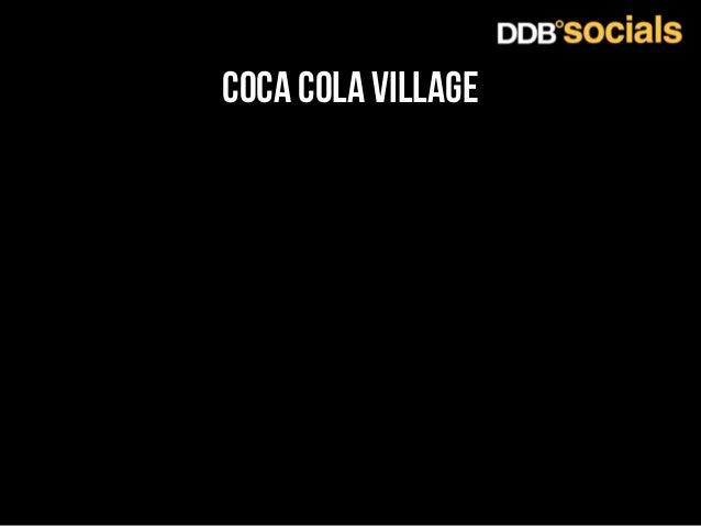 coca cola village