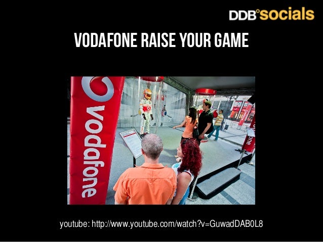 vodafone raise your game  youtube: http://www.youtube.com/watch?v=GuwadDAB0L8