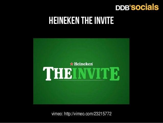 heineken the invite  vimeo: http://vimeo.com/23215772
