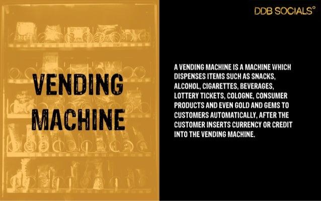 Digital Fridays - Vending Machines Slide 2