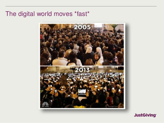 The digital world moves *fast*