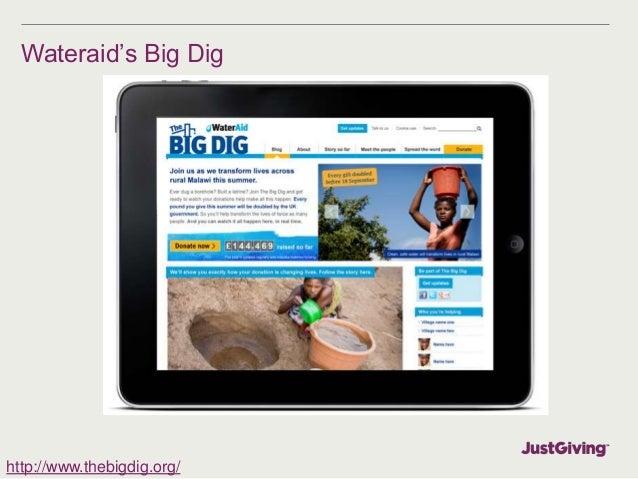 Wateraid's Big Dig  http://www.thebigdig.org/