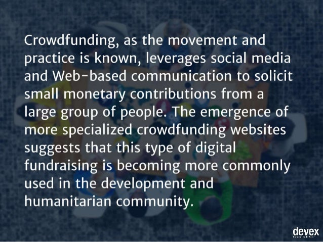 15 popular crowdfunding sites for social causes Slide 3