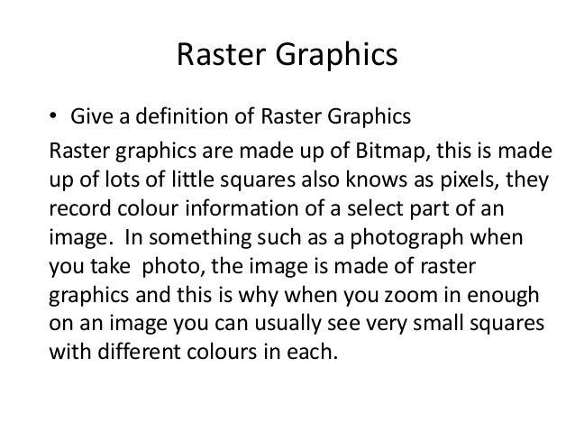 Digital Graphics File Formats