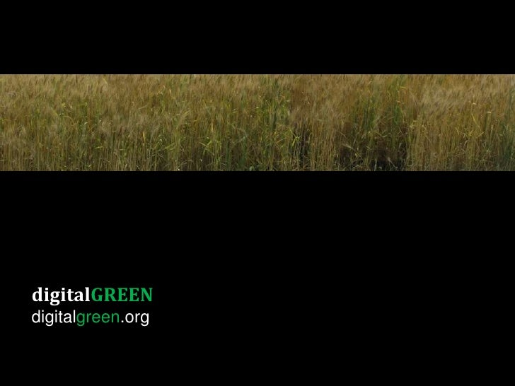 digitalGREENdigitalgreen.org
