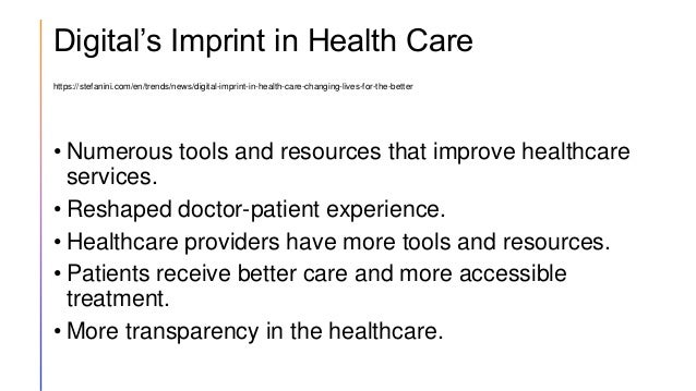 Digital's Imprint in Health Care https://stefanini.com/en/trends/news/digital-imprint-in-health-care-changing-lives-for-th...
