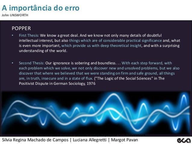 Silvia Regina Machado de Campos   Luciana Allegretti   Margot Pavan A importância do erro John UNSWORTH http://www.google....