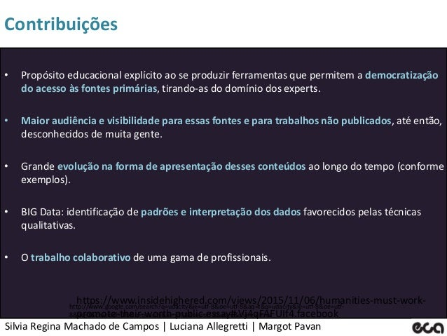 Silvia Regina Machado de Campos   Luciana Allegretti   Margot Pavan Contribuições http://www.google.com/search?q=udacity&i...