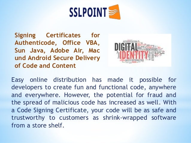 signing code certificate cheap certificates