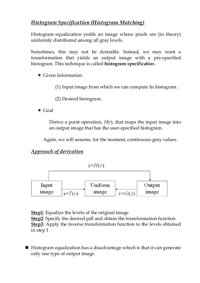Digital Image Processing - Image Enhancement