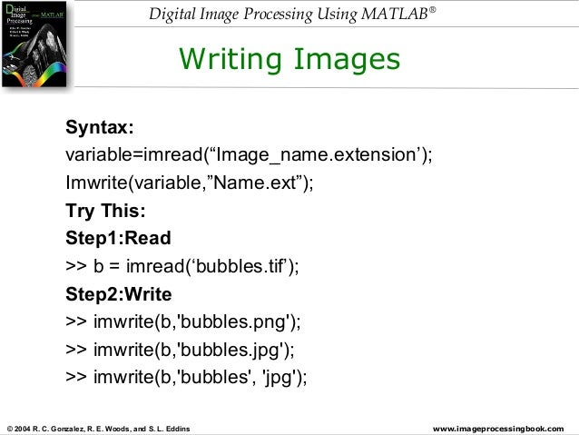 Digital image processing using matlab (fundamentals)