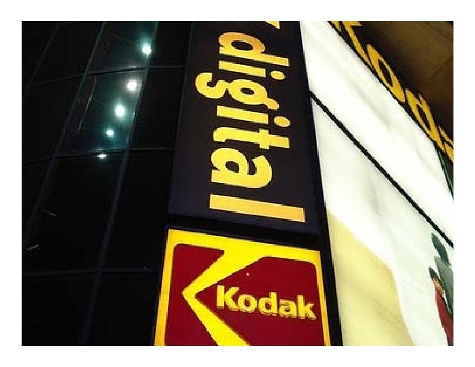 It is striking how Kodak has suffered     since the rise of digital imaging.