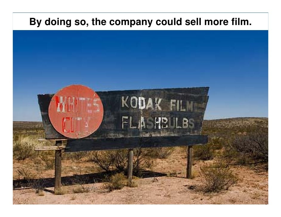 Kodak back from bankruptcy, with new sales strategy
