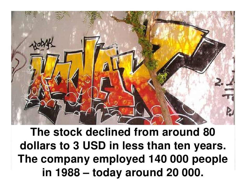 Digital Imaging and Kodak's Strategic Mistake Slide 3