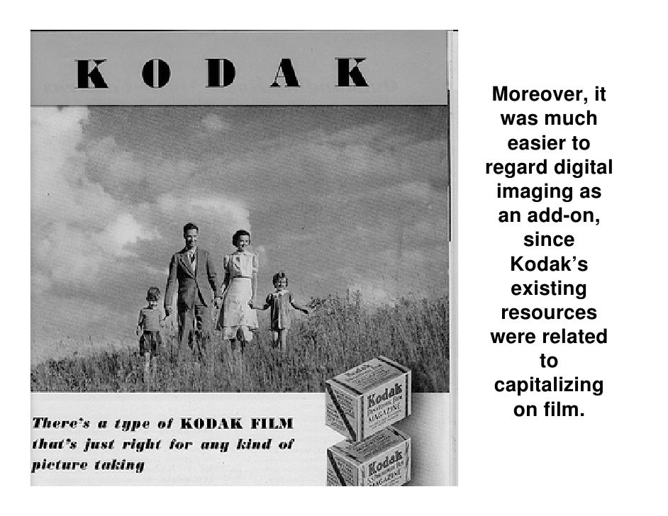 Digital Imaging and Kodak's Strategic Mistake