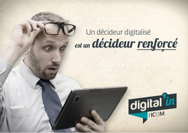 digital in par Digital'in C'est une nouvelle offre de l'agence qui propose aux dirigeants et décideurs de s'initier progre...