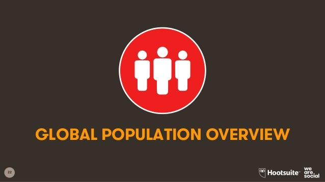 22 GLOBAL POPULATION OVERVIEW