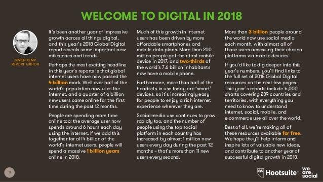 Digital in 2018 Global Overview Slide 3