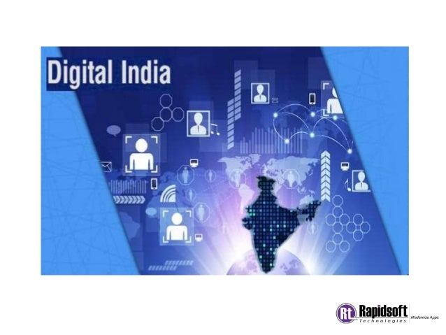 Digital India is an initiative by Government of India to make sure that all Government work go online which will help citi...