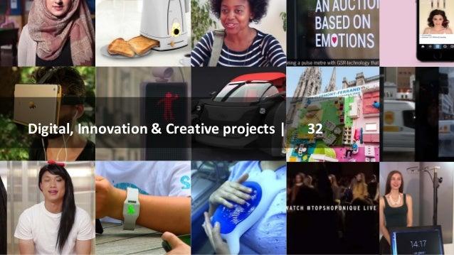 Digital, Innovation & Creative projects | 32