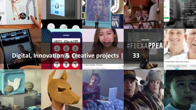 Digital, Innovation & Creative projects | 33