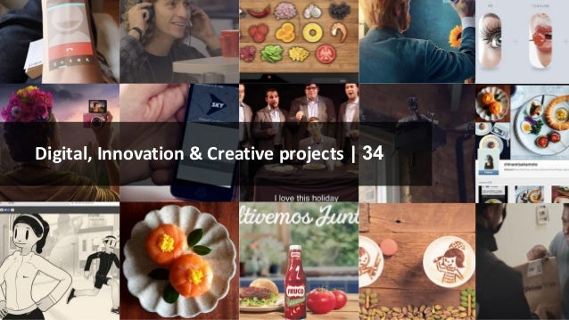 Digital, Innovation & Creative projects | 34