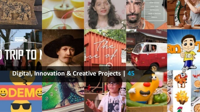 Digital, Innovation & Creative Projects | 45