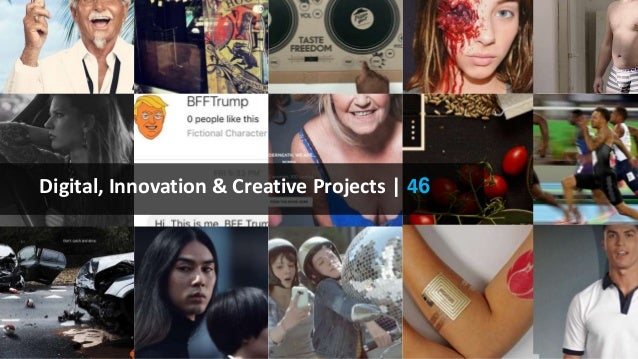 Digital, Innovation & Creative Projects | 46