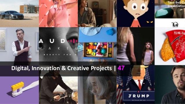 Digital, Innovation & Creative Projects | 47
