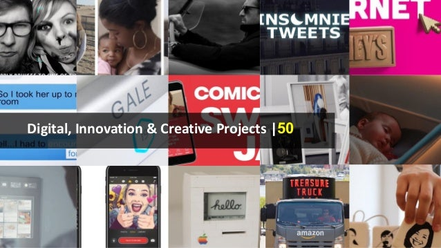 Digital, Innovation & Creative Projects |50