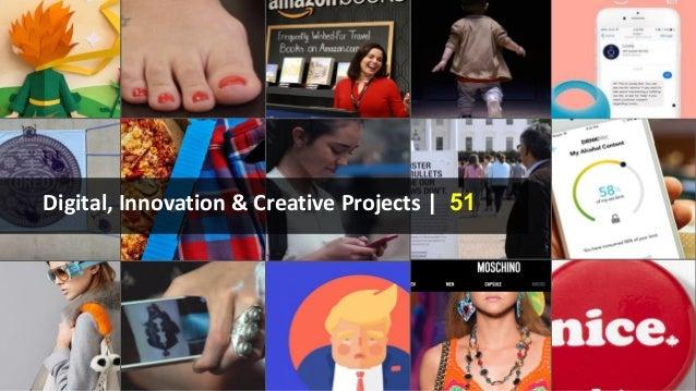 Digital, Innovation & Creative Projects | 51