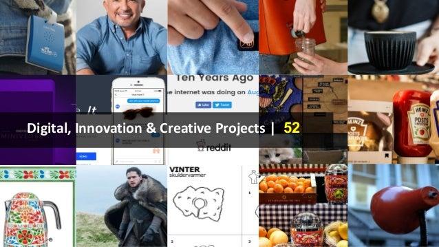 Digital, Innovation & Creative Projects | 52