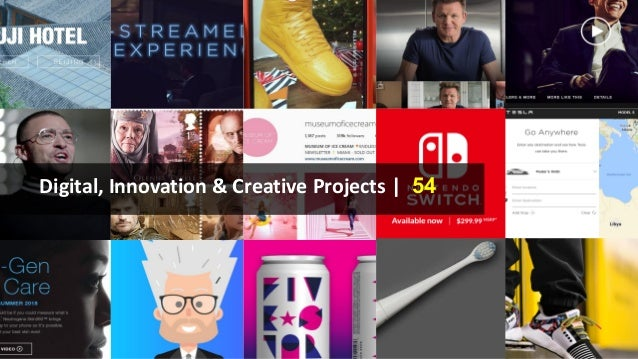 Digital, Innovation & Creative Projects | 54