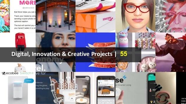 Digital, Innovation & Creative Projects | 55