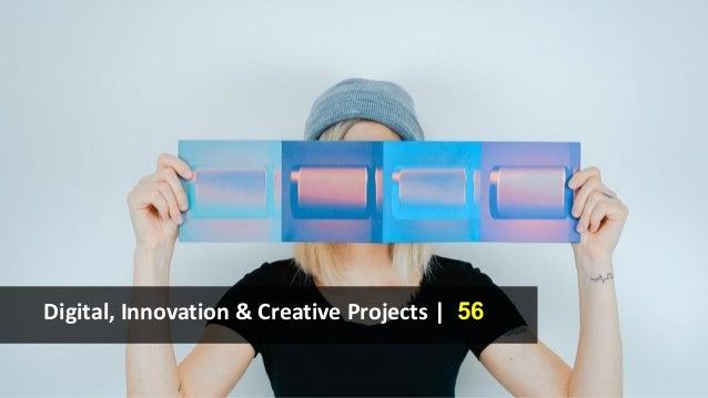 Digital, Innovation & Creative Projects | 56