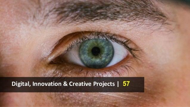 Digital, Innovation & Creative Projects | 57