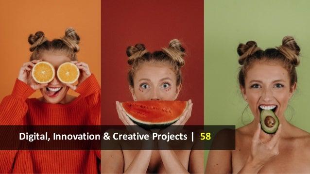 Digital, Innovation & Creative Projects | 58