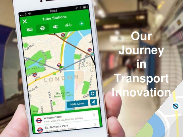 Our Journey in Transport Innovation