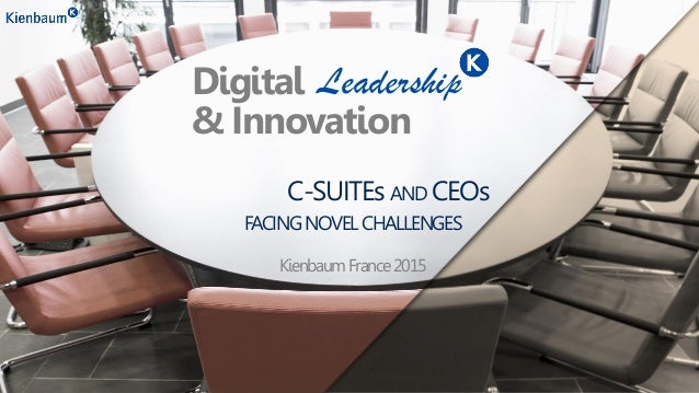 C-SUITEs AND CEOs LeadershipDigital & Innovation FACINGNOVELCHALLENGES KienbaumFrance2015